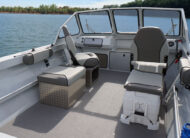 """Dress it up with an oversized bow fish box, livewell, 25"""" transom, high pressure wash down and audio package for plenty of playfulness, plenty of fishability."""