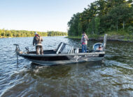 Get to your secret fishing hole faster with Pre-Flex® Technology and engineered reverse chines.