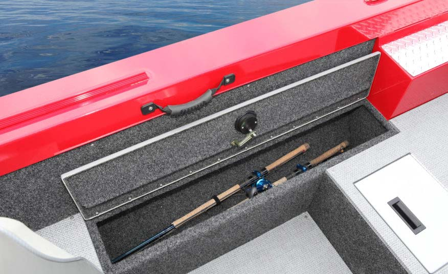 Locking rod storage