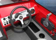 Anti-feedback steering and aluminum sport steering wheel with plenty of room for electronics