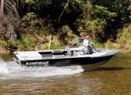 With its sleek lines, and its practical design the 1875 Falcon SJ is the best value in river jet boating today