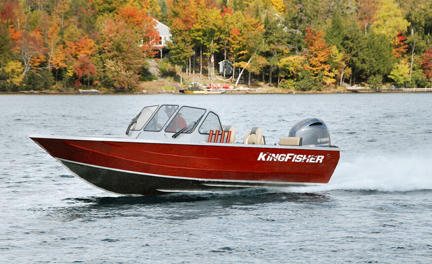 Known for its precision handling and smooth dry ride, this boat is choice for those who never want to miss a day on the water