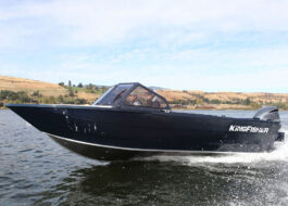 With its extended motor bracket for improved control and open cockpit, the 2025 Escape Soft Top is ideal for boaters and passionate anglers who deserve it all