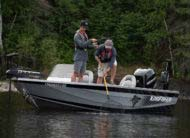 Massive casting platform perfect for walleye, bass, musky, trout or anything you set your eye on