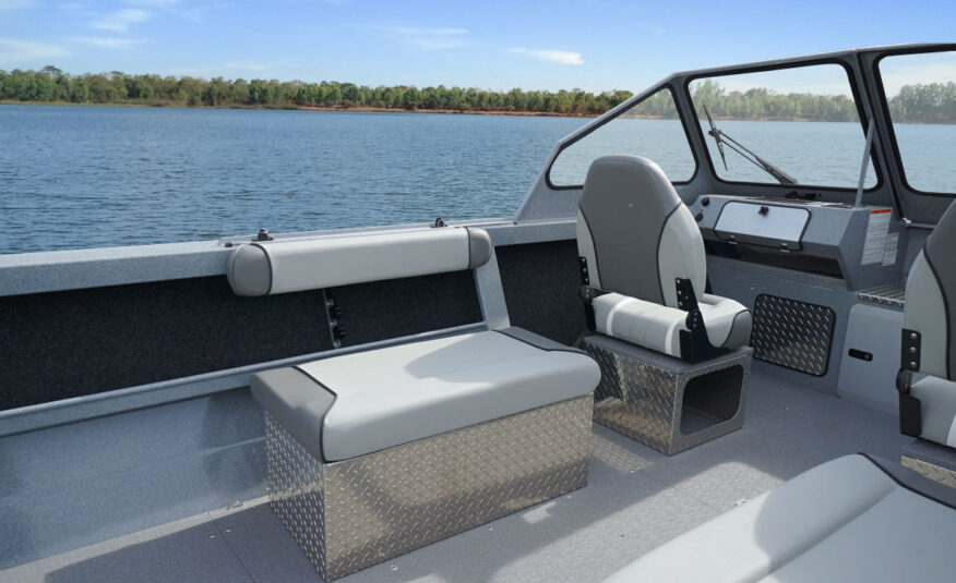 Bring everything you need - plenty of storage space for to keep you on the water longer
