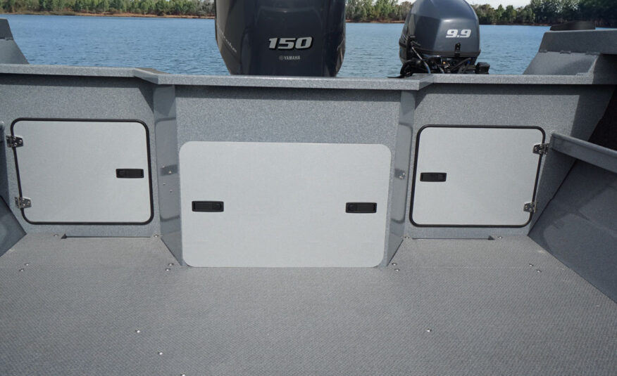 Easy access battery and bilge compartment