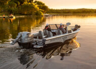 A tough heavy-gauge hull you can trust. Make the most of your time on the water.