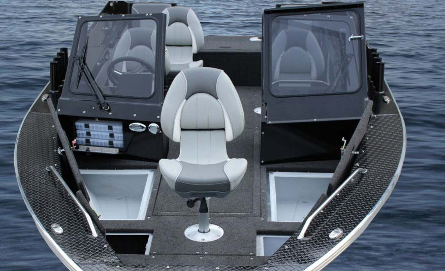Pro Angler seats, livewells, storage, tackle boxes and a live bait well lets you expand your fishing performance. The 2125 Accord Sport, the boat your buddies will envy and fish will fear.