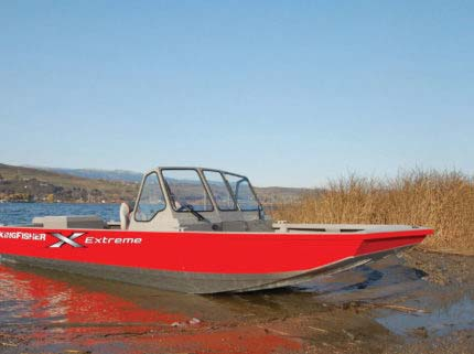 River Jet Series — KingFisher Boats - Welded adventure boats