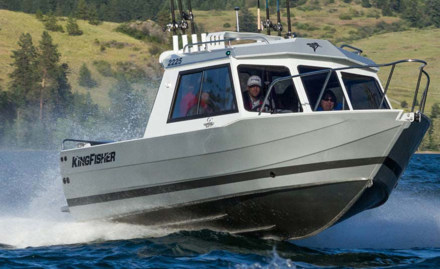Pre-Flex® hull technology delivers our legendary dry, responsive performance ride