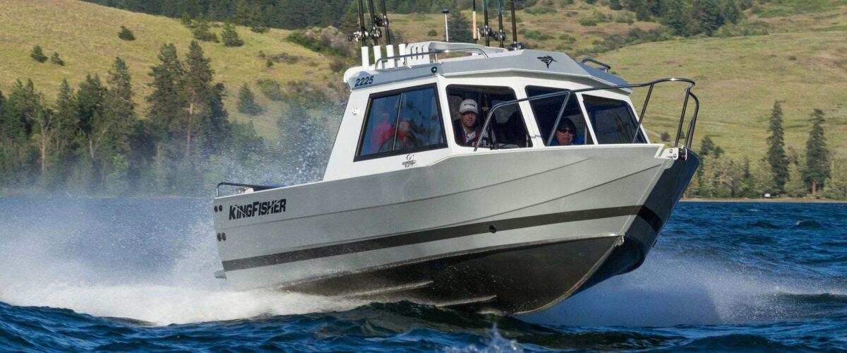 2225 Escape Ht Kingfisher Boats Heavy Gauge Welded
