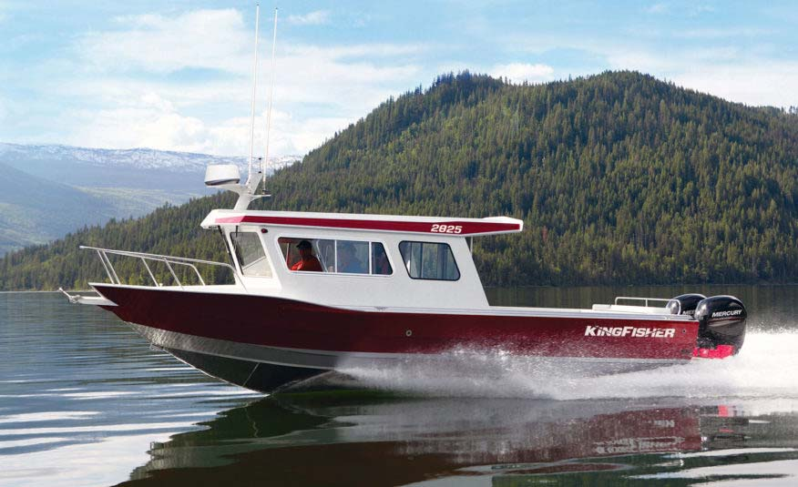 Packed with hardcore offshore styling and legendary KingFisher fishability, the 2825 Coastal Express delivers limit out performance at a very competitive price