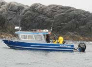 A fast planing hull and roomy cabin make the Coastal Express a favorite among anglers in the know