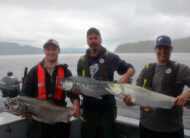 Team KIngFisher in Port Hardy, BC