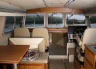 "Ergonomically designed cabin with 6'10"" headroom and high quality finishings"