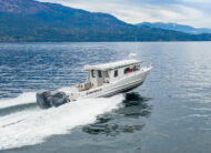 Go where the fish are with a 300 USG fuel tank and maximum 900HP
