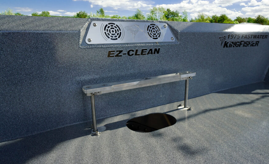 Heavy duty EZ ckean intake grate with stomp bar