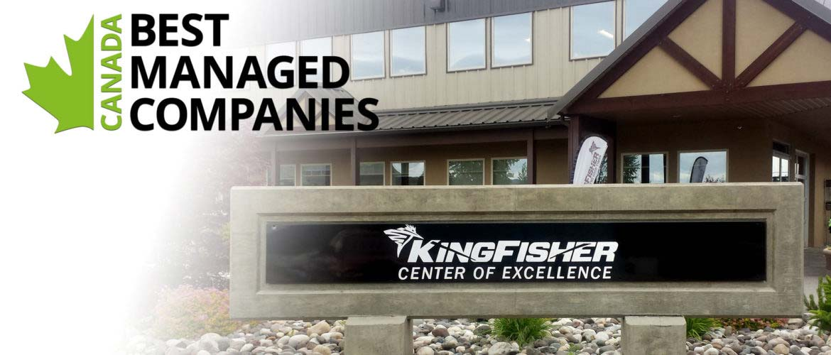 KINGFISHER BOATS CANADA'S BEST MANAGED COMPANIES