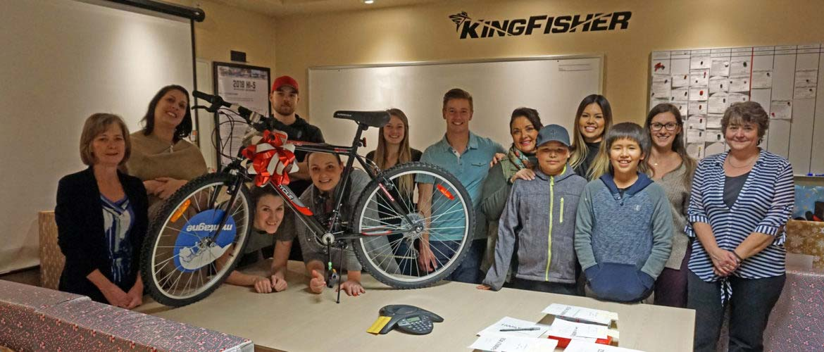 KINGFISHER BOATS GIVES BACK