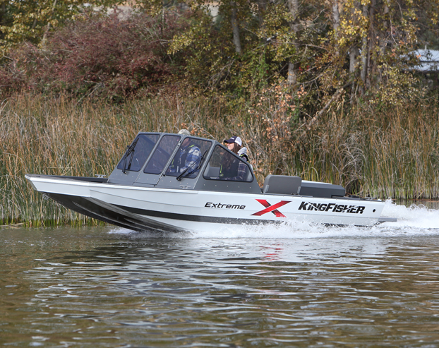 KingFisher Boats - Welded adventure boats for Lake, River