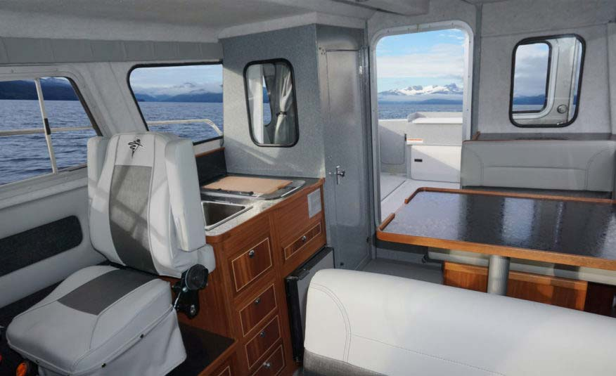 Choose from Weekender or Destination interior packages to match your offshore lifestyle