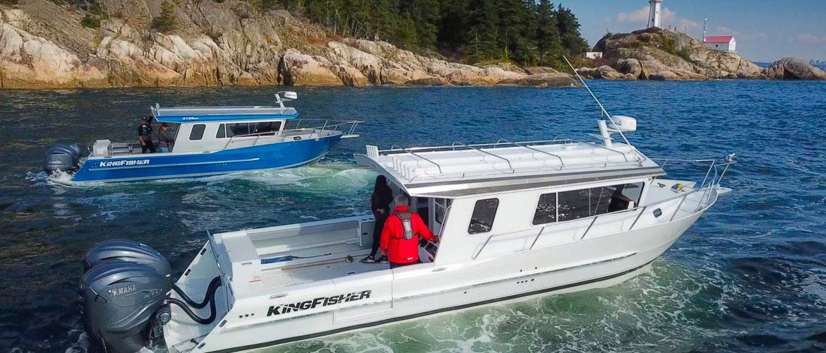 KINGFISHER BOATS DEBUTS 3125 GFX