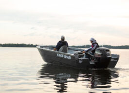 The 1825 Warrior Tiller heavy gauge all welded aluminum hull delivers toughness and durability together with our famous performance ride. Get it done and have some fun.