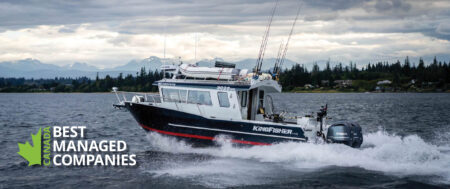 KingFisher Boats is Gold Standard Best Managed Winner